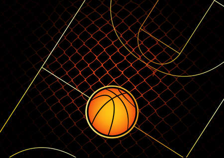 basketball Stock Vector - 6231406