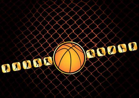 basketball Stock Vector - 6231408