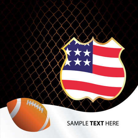 american style Stock Vector - 6232736