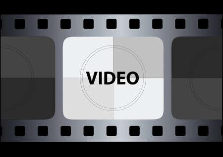 ベクトルのフィルム ストリップ  イラスト・ベクター素材