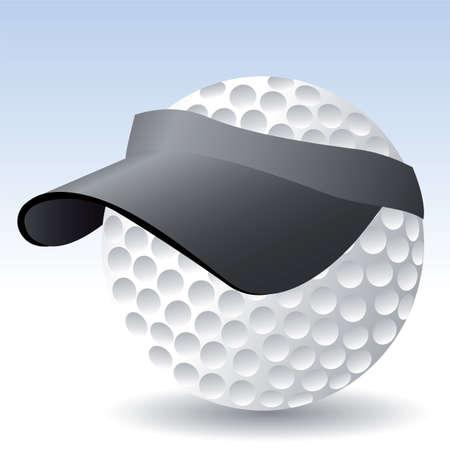 golf ball  イラスト・ベクター素材