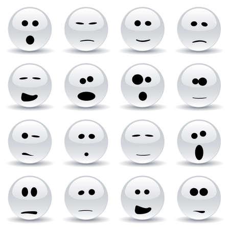 smileys: smileys Illustration