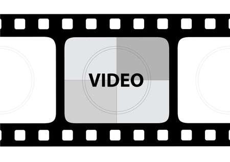ベクトルのフィルム ストリップ 写真素材 - 6233112