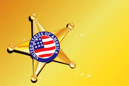 sheriff badge: sheriff badge