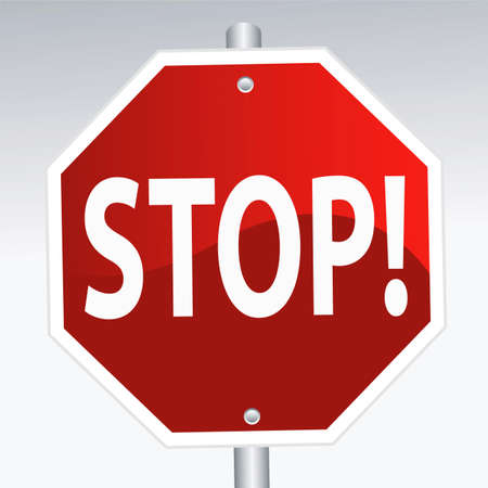 stop sign Stock Vector - 6233110