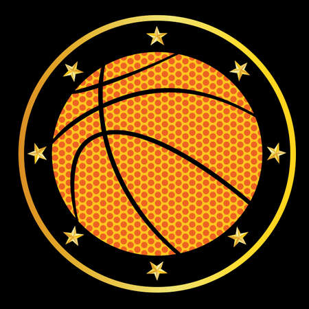 basketball Stock Vector - 6233133