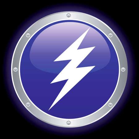 voltage danger icon: high voltage