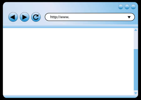 vector internet browser Stock Vector - 6347243
