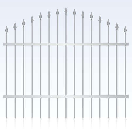 iron gate: wrought iron gate