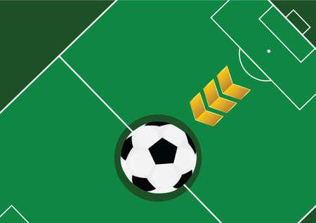 サッカーのデザイン