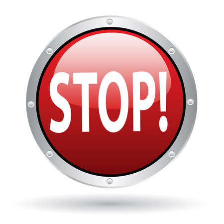 stop Stock Vector - 6363980
