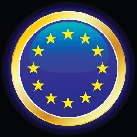 vector flag of european union Vector