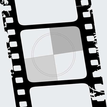 ベクトルのフィルム ストリップ 写真素材 - 6401442