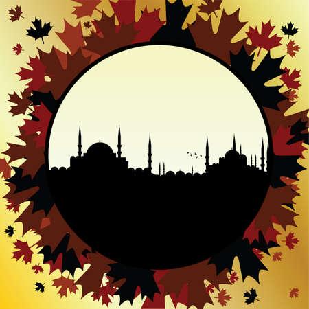 ottoman: fall in istanbul Illustration