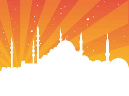 minarets: istanbul