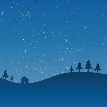 winter time Vector