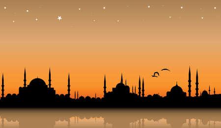 ペルシア: イスタンブール  イラスト・ベクター素材
