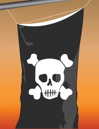 pirate flag Stock Vector - 6802806