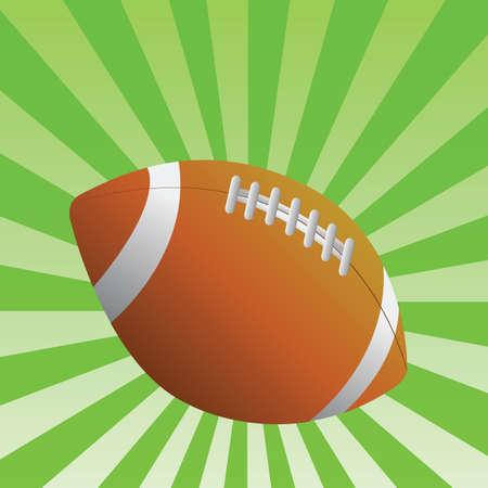 football Stock Vector - 6993172