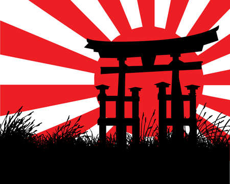 japanese style Stock Vector - 7080329
