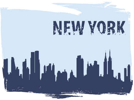 new york Stock Vector - 7158357