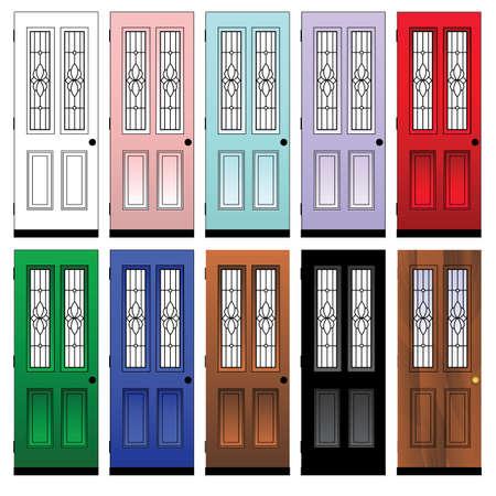 doors Stock Vector - 7158367