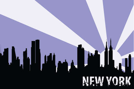 new york Stock Vector - 7414518