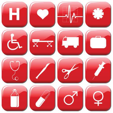 iconos medicos: iconos de m�dicos