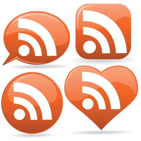 syndication: iconos de RSS