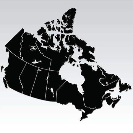 quebec:  map of canada