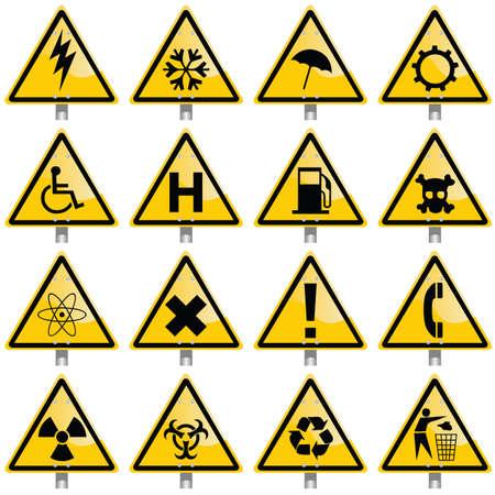 warning signs Illustration