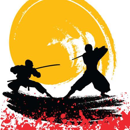 ninjas Stock Vector - 7469860