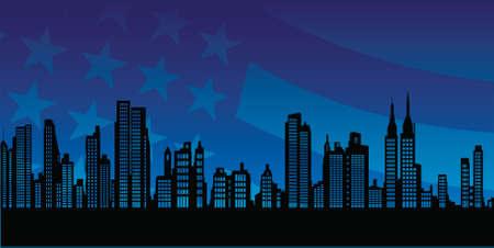 Manhattan Skyline: new york