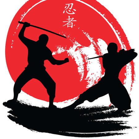 japanese ninja: ninjas