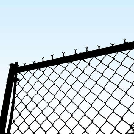 fence  イラスト・ベクター素材