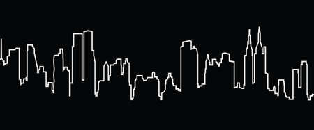 new york skyline: new york