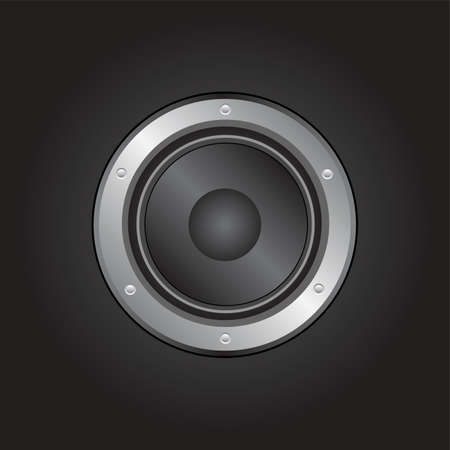 loudspeaker Stock Vector - 7643826