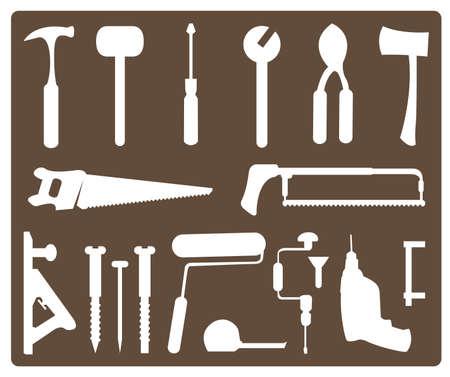 tools  イラスト・ベクター素材