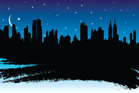 old new york: cityscape