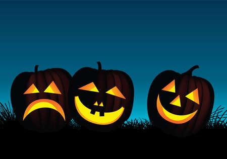 frightful: halloween pumpkins