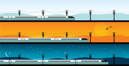 bullet train Vector