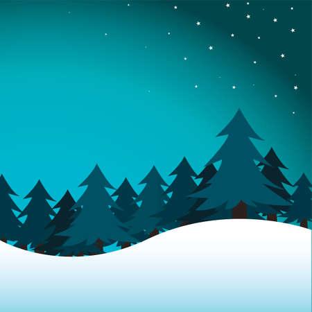 Winter-Hintergrund Standard-Bild - 8838866