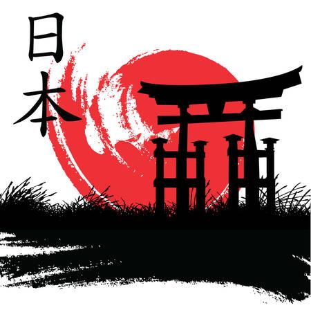 Japanischen Stil Standard-Bild - 8838892