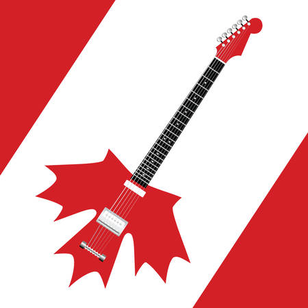 canadian rock Vector