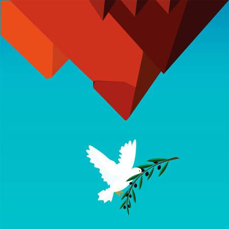 エジプトのための平和  イラスト・ベクター素材