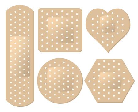 bandages: adhesive bandage set