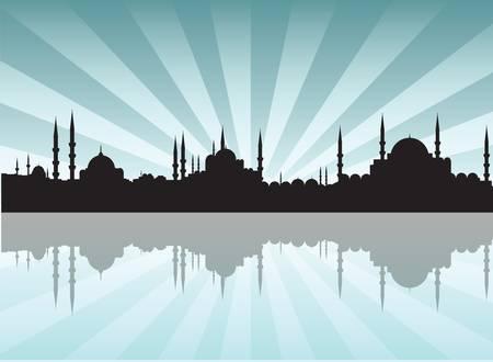 osmanisch: Istanbul Illustration