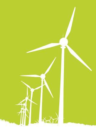 wind turbine: windmills