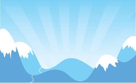 mountains Stock Vector - 9261488