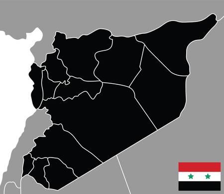 paraphernalia: map of syria